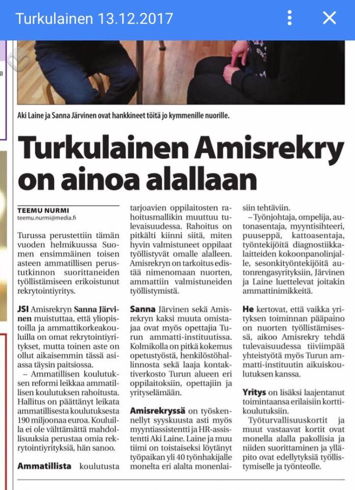 Turkulainen Sanna Järvinen