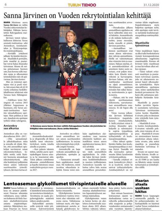 Turun Tienoo Sanna Järvinen